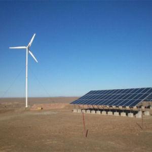 Гибридная система питания солнечного ветра 10квт 15КВТ, солнечного ветра впускного воздуха системы питания для использования в домашних условиях или использования на заводе, гибридный солнечного ветра генератор
