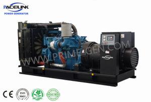 750kVA~3000kVA Mtu Powered Tipo Aberto grupo gerador a diesel com marcação CE/ISO