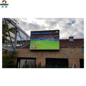 영상 위원회 광고를 위한 옥외 높은 광도 P6/P8/P10 발광 다이오드 표시 스크린