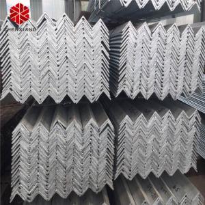Di lunghezza standard galvanizzato Ss400 del metallo d'acciaio di angolo con i fori
