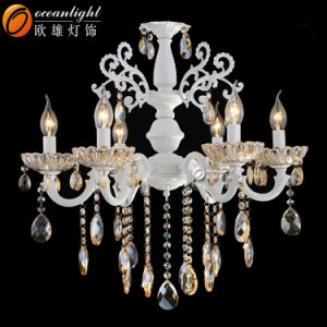 Lustre de cristal moderna iluminação para sala de estar 88014-8+4