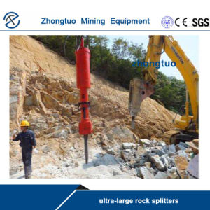 grande divisore idraulico eccellente della roccia 3600t per lo strumento dell'interruttore di pietra della cava