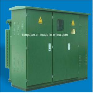 A energia fotovoltaica e eólica Modelo Zgs Subestação transformador do tipo combinado