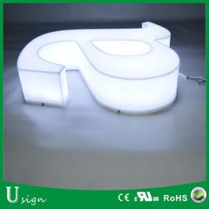 LED Facelit hermosa letra del alfabeto con estilo diferente