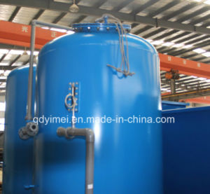 De Filter van het Zand van het kwarts voor de Installatie van de Behandeling van het Industriële en Afvalwater van het Ziekenhuis