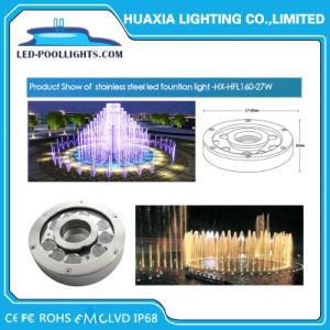 9W 316 acero inoxidable IP68 Fuente de luz LED de bajo el agua piscina