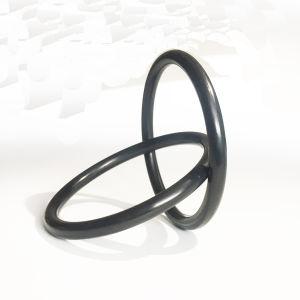高品質黒いカラーゴムリングのOリング