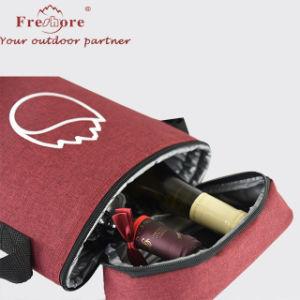 Для использования вне помещений плечо вина бутылку охладитель для пикника сумка с молнией
