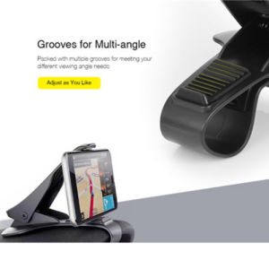 プラスチック携帯電話の立場の受け台のダッシュボード車のホールダーサポートGPS