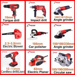 Outil d'alimentation/meuleuse d'angle/125mm/900W/axe de verrouillage/outils de meulage/Poignée droite