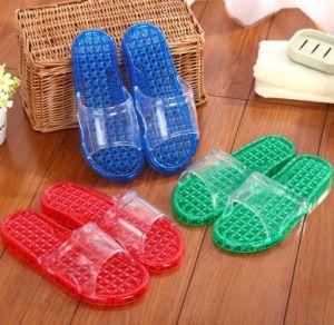 Les plus populaires de sandales plat couleur personnalisée à l'intérieur des patins en PVC