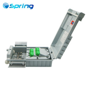 El equipo de fibra óptica Cable de caída de 16 puertos de la caja de bornes de pared exterior de la caja de distribución de Fibra Óptica FTTH