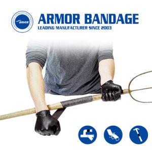 4inch 460cm는 빨리 섬유 유리 테이프를 감싸는 산업 관 수선 기갑 포장 고침 테이프 누출 PVC 관을 치료한다