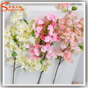 結婚式またはレストランの装飾のための人工的な桜の花の木