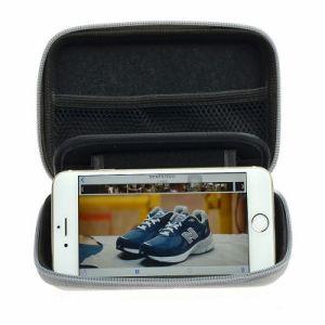 방수 단단한 쉘 사각 전자 EVA 지퍼 상자