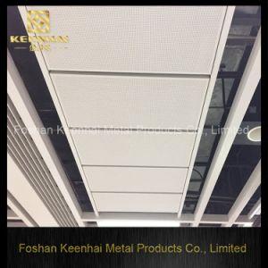 Locher durchlöcherter Vierecks-Haken auf Metall verschieben Decke (KH-MC-11)