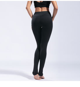 Il funzionamento su elastico Assorted di colore mette in mostra i pantaloni di yoga delle donne delle ghette