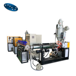 Tres capas de la línea de producción de la manguera de PVC blando