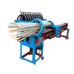 Bâton bambou chinois cure-dents rendant la production gamme de machines