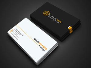 9x54cm CMJN Papier Art Imprime Carte De Visite
