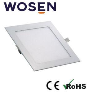 Alto CRI>80 Panel LED Light 18w para su uso en interiores