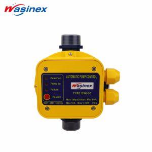 O interruptor de controle automático de pressão com o medidor com a programação