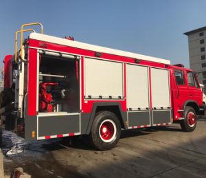 Dongfeng 4X2 6cbm de espuma de agua de la lucha contra incendios carretilla