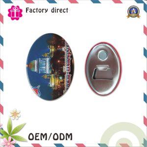 Apri di bottiglia magnetica professionale della Jersey della fabbrica di processo del Manufactory del distintivo