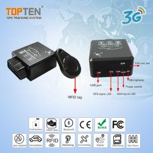 2G y 3G GPS de seguimiento OBD, con parada de motor, armar y desarmar Auto RFID (TK228-LE)