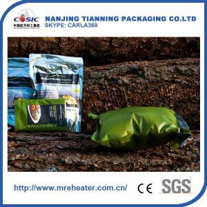 Pacote simples alimentos Saco de pré-aquecedor de alimentos do Exército