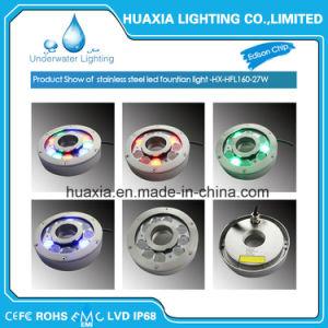 IP68 27W mehrfarbige LED Brunnen-Lampe (HX-HFL160-27W)