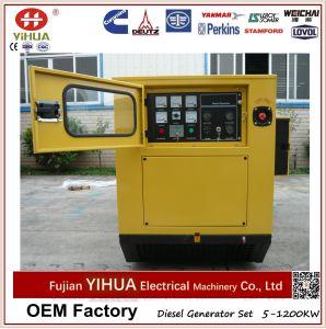 Generador diesel silencioso insonoro 24kw/30kVA con el motor Y4100d de Yangdong