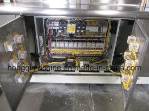 Máquina laminadora rápido de la estación cuatro