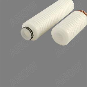 10inch de micro Geplooide Patroon van de Filter PVDF