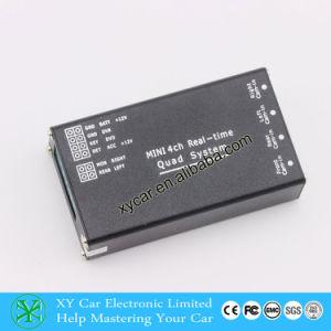 Caliente de 4 canales de video Spliter H. 264 Soporte del interruptor manual XY-7028
