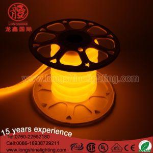 높은 광도 LED 유연한 분홍색 원형 네온 등 IP65