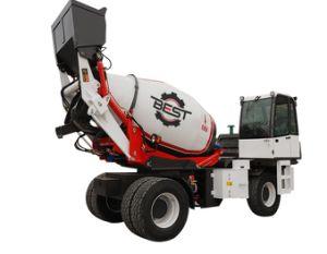 L'auto chargement Bétonnière 4.5 mètres cubes pour la vente de camion bétonnière