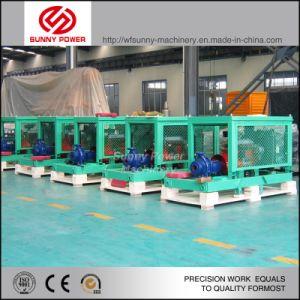 30kw 6 polegadas de água de saída das bombas diesel 100m3/hr 5 bar de pressão