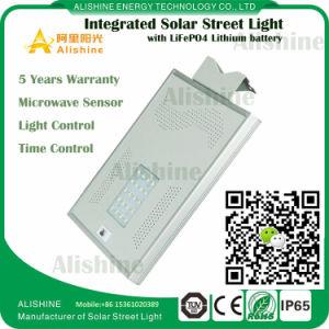 Directa de Fábrica con protección IP65 20W Bridgelux LED Solar Precio del sistema de la luz de la calle