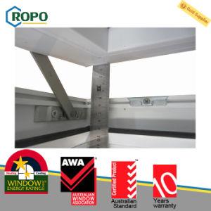 Portelli del PVC di profilo di Rehau e Windows, finestra di plastica della tenda