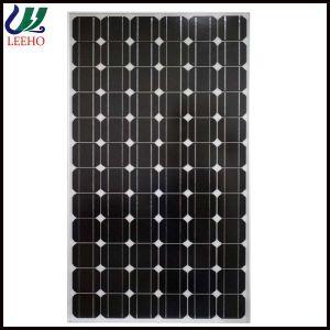 Schwarzer monokristalliner Sonnenkollektor des Rahmen 250W