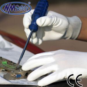 Установите упор для рук Nmsafety ИСЗ белый провод фиолетового цвета с покрытием электронной безопасности рабочих вещевого ящика