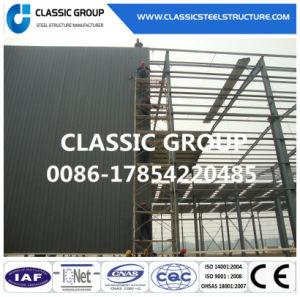 Prefabricados, alto edificio almacén de la estructura de bastidor de acero