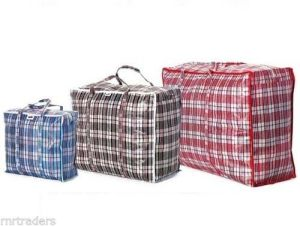 Duffel Storage Bag con Polypropylene Fabric per Carrying Large Items