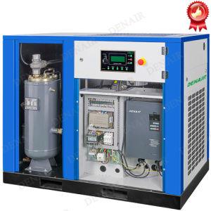 11k el ahorro de energía impulsada directa compresor de aire con convertidor de frecuencia