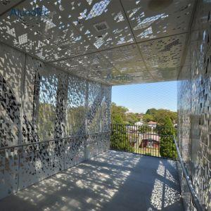 Hohler-heraus Aluminiumstreifen-verschobene Decke