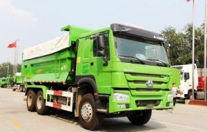 Sinotruk HOWO 6X4 290-371HP U 모양 쓰레기꾼 또는 팁 주는 사람 트럭 덤프 트럭