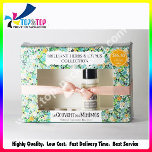 Plástico claro Janela PVC Cmky Impressão a Cores Box