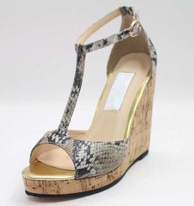 Haut Talon Fashion femmes Noires02-1687 haute sandales (L'Hcy)
