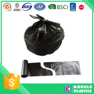 동점 손잡이를 가진 플라스틱 처분할 수 있는 쓰레기 쓰레기 봉지